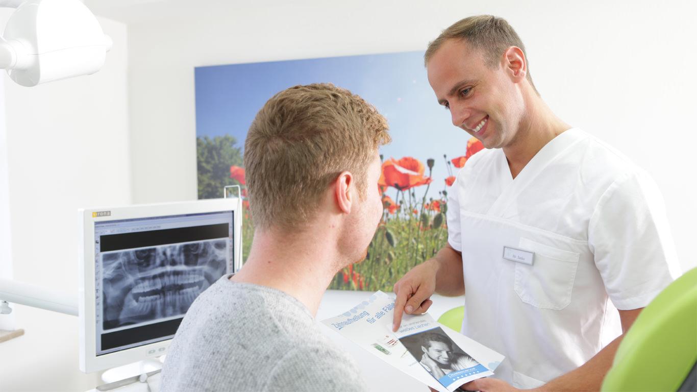 Beratung zu Zahnaufhellung